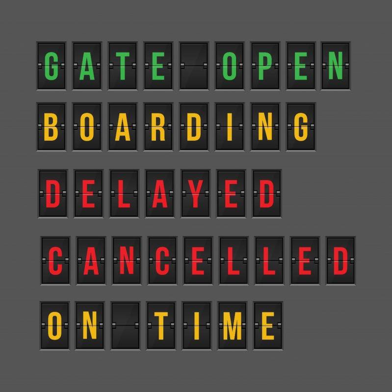 Fluginformationen für ein- und ausgehende Flüge